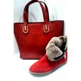ست کیف و کفش سوزان