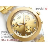 ساعت مچی طلایی swatch SVCK4032G طرح اصل